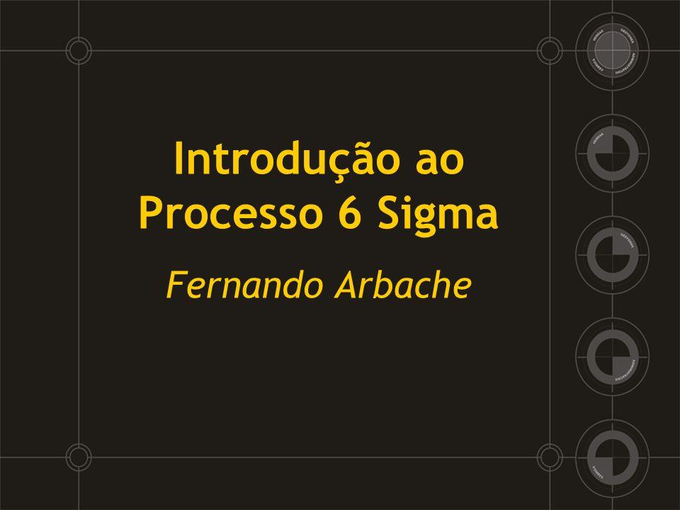Introdução ao Processo 6 Sigma Fernando Arbache