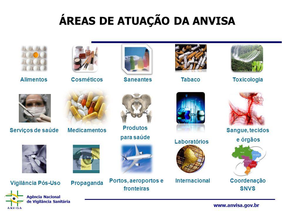 Agência Nacional de Vigilância Sanitária www.anvisa.gov.br Capacitação Diagnóstico Comunicação Mobilização PLANEJAMENTO ESTRATÉGICO