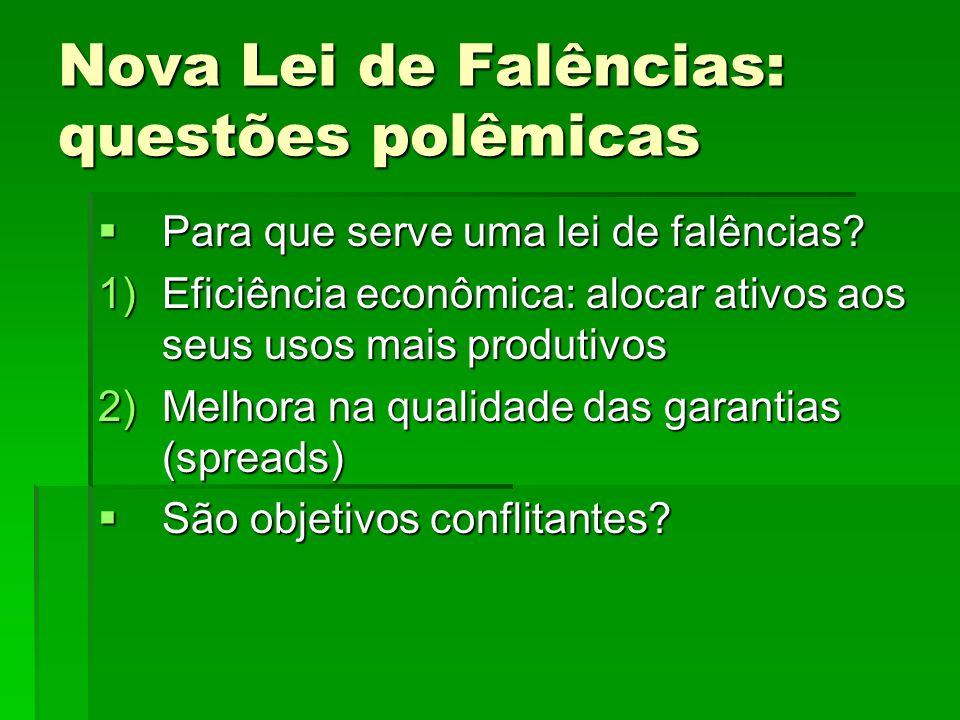 Alguns aspectos econômicos da nova LF Por que os atuais incentivos são inadequados para a promoção de eficiência.