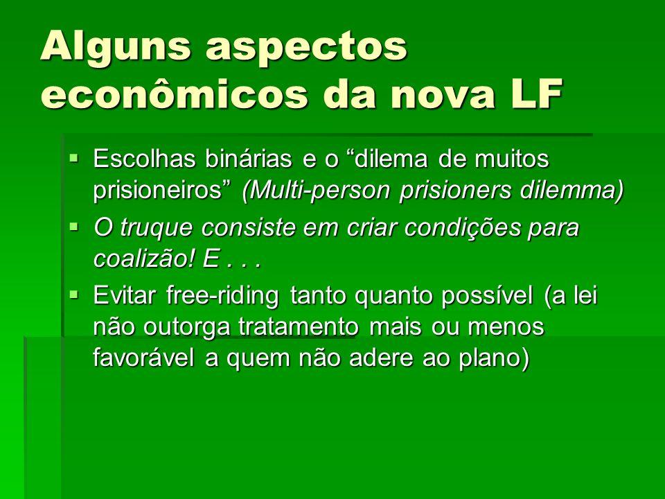 Alguns aspectos jurídicos polêmicos da nova LF O que é o processo de recuperação.
