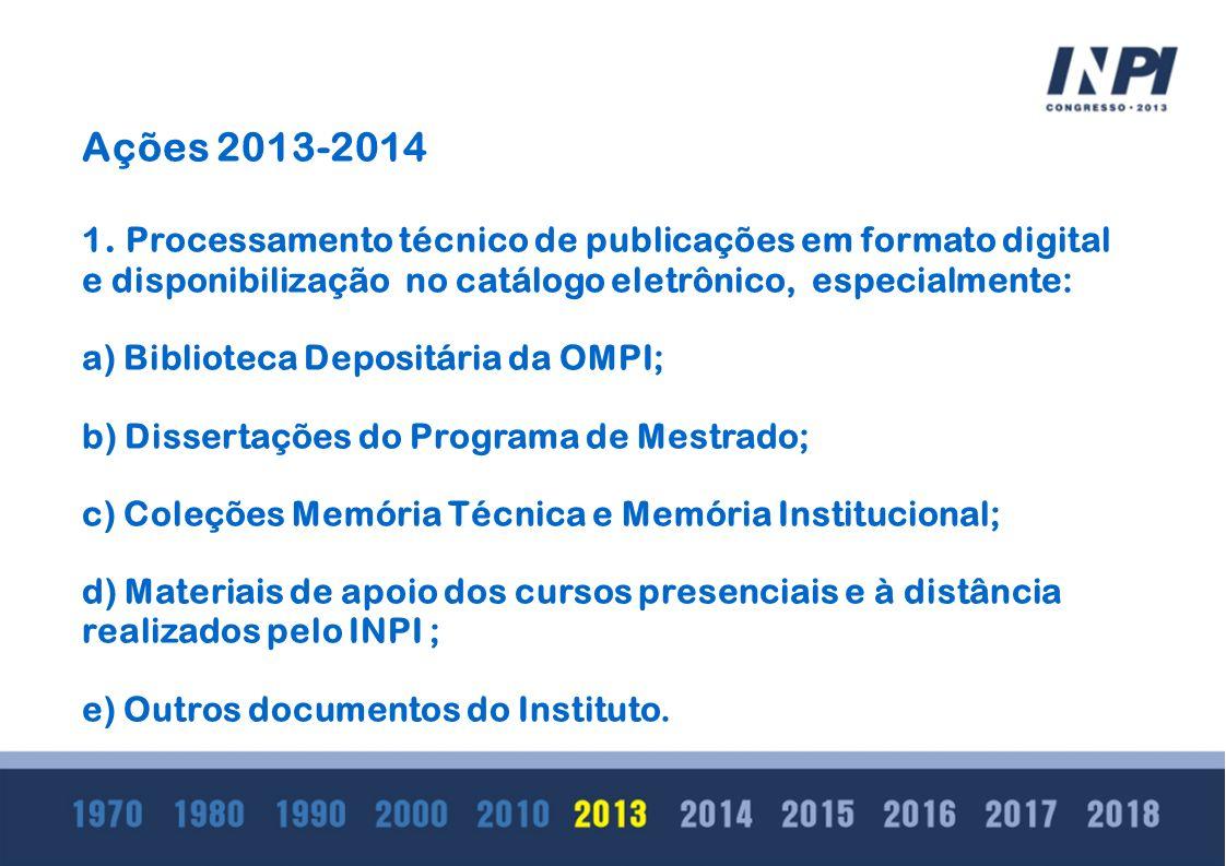 Ações 2013-2014 1.