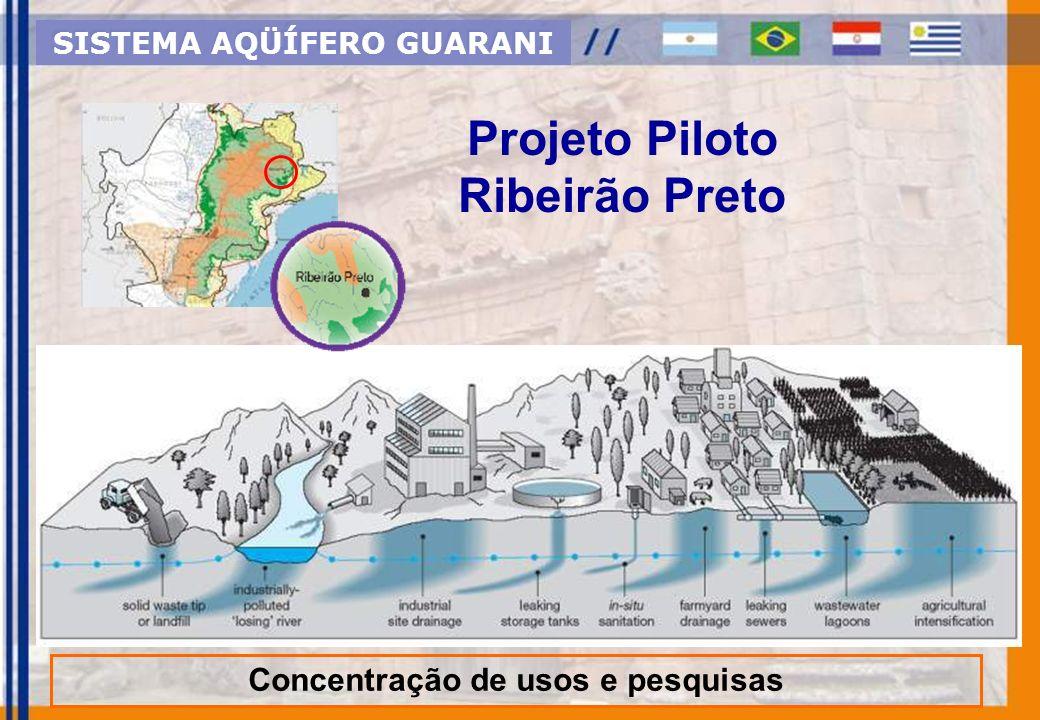 Ref. Guido Blöcher Projeto Piloto Ribeirão Preto Concentração de usos e pesquisas