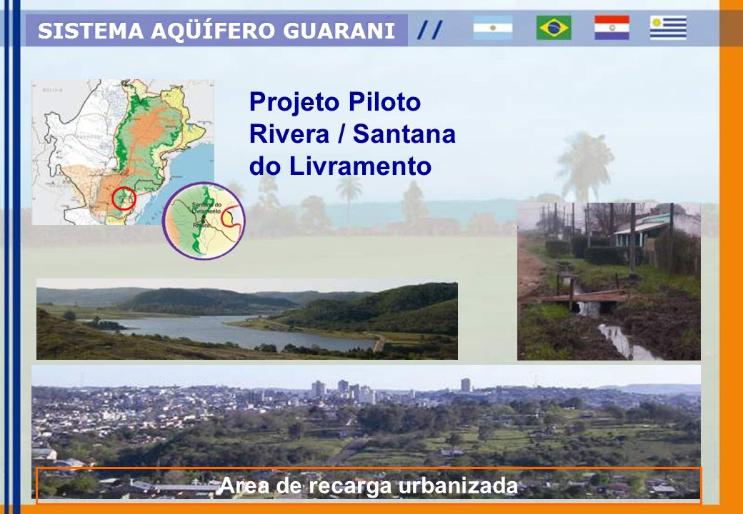 Projeto Piloto Concordia / Salto Uso termal sustentável SISTEMA AQÜÍFERO GUARANI