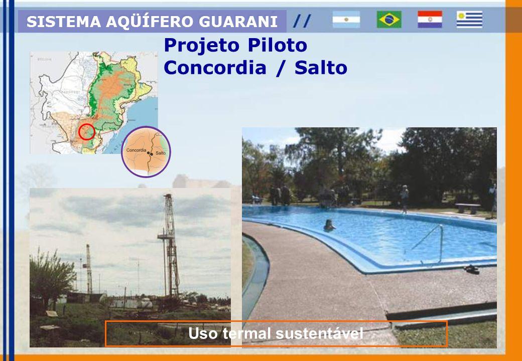 Projeto Piloto Itapúa - Paraguai Area de expansão agrícola SISTEMA AQÜÍFERO GUARANI