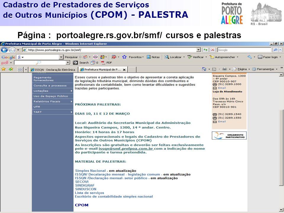 INSTRUÇÃO NORMATIVA SMF Nº 1/2009.COMPROVAÇÃO DAS INFORMAÇÕES PRESTADAS Art.
