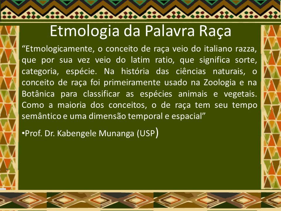 Racismo no Brasil O Racismo em nossa sociedade se dá de um modo muito especial: ele se afirma através da sua própria negação.