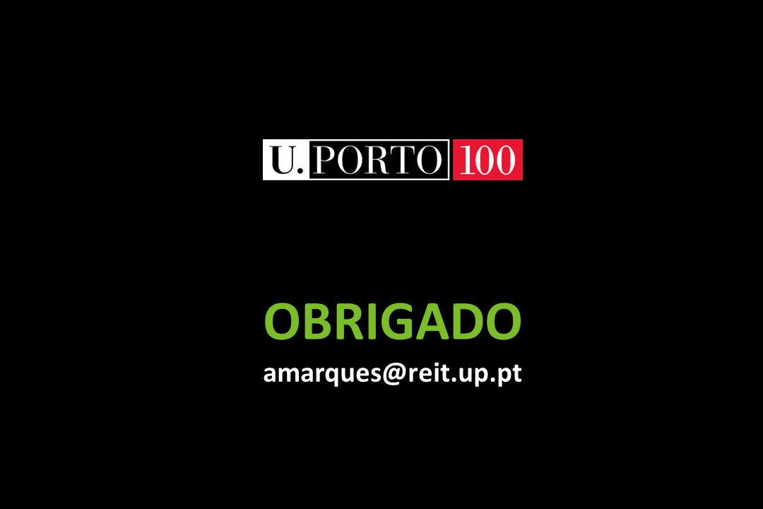 OBRIGADO amarques@reit.up.pt
