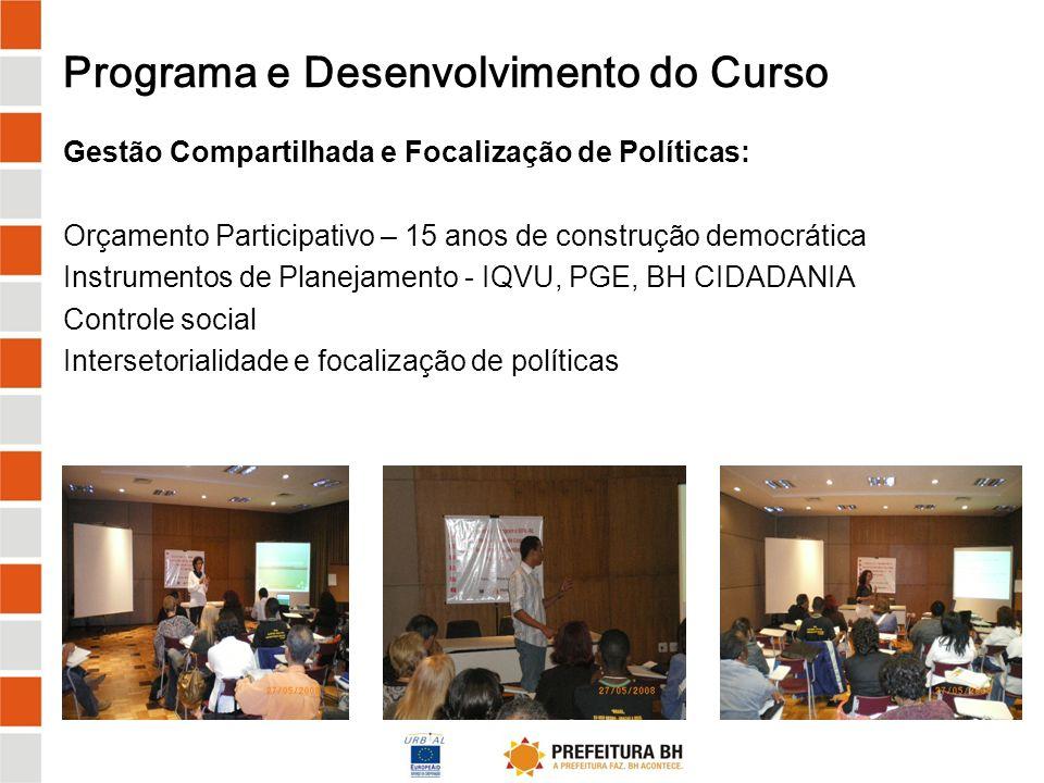 Programa e Desenvolvimento do Curso Pesquisa-Ação - Investigação de políticas municipais: Orientações sobre a metodologia Elaboração de pré-diagnóstico