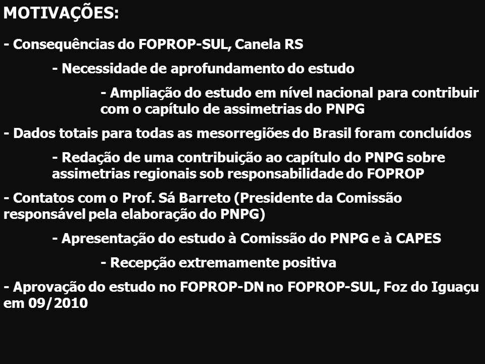 DOUTORES – SOCIAIS APLICADASPPGs- SOCIAIS APLICADAS - 38% das mesorregiões brasileiras com 0 doutor em C.