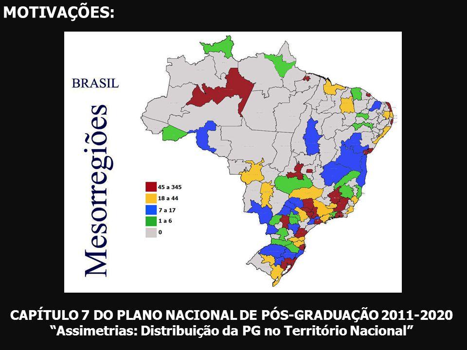 DOUTORES - HUMANASPPGs- HUMANAS - 35% das mesorregiões brasileiras com 0 doutor em C.