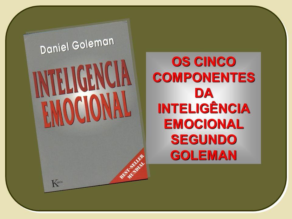 OS CINCO COMPONENTES DA INTELIGÊNCIA EMOCIONAL SEGUNDO GOLEMAN