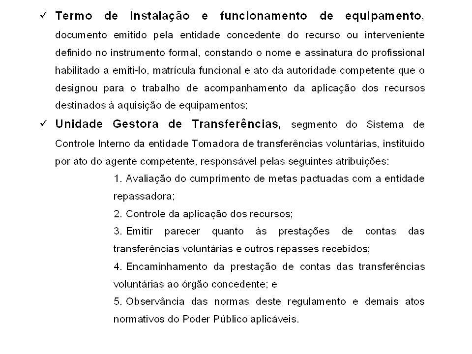 O instrumento de repasse será firmado entre um único concedente (SEDS, através do FIA ou FEAS) e um único tomador (município ou entidade), sendo que o CONCEDENTE é o responsável pelo envio da prestação de contas ao Tribunal.