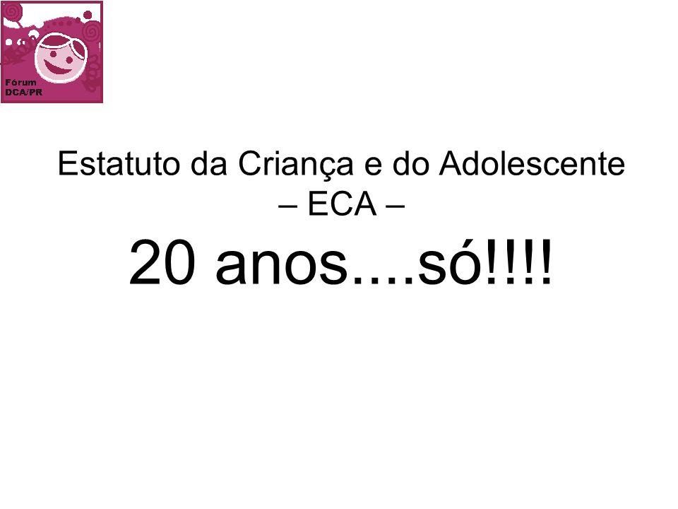 FÓRUM ESTADUAL DOS DIREITOS DA CRIANÇA E DO ADOLESCENTE End.