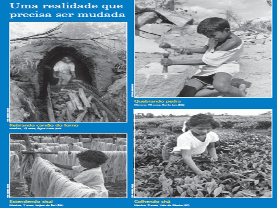 O enfrentamento ao trabalho infantil se realiza de forma intersetorial: - Instância governamental que mobiliza o enfrentamento ao trabalho infantil: Comissão Nacional de Erradicação do Trabalho Infantil – CONAETI, instituída pela Portaria nº 365, de 2002.