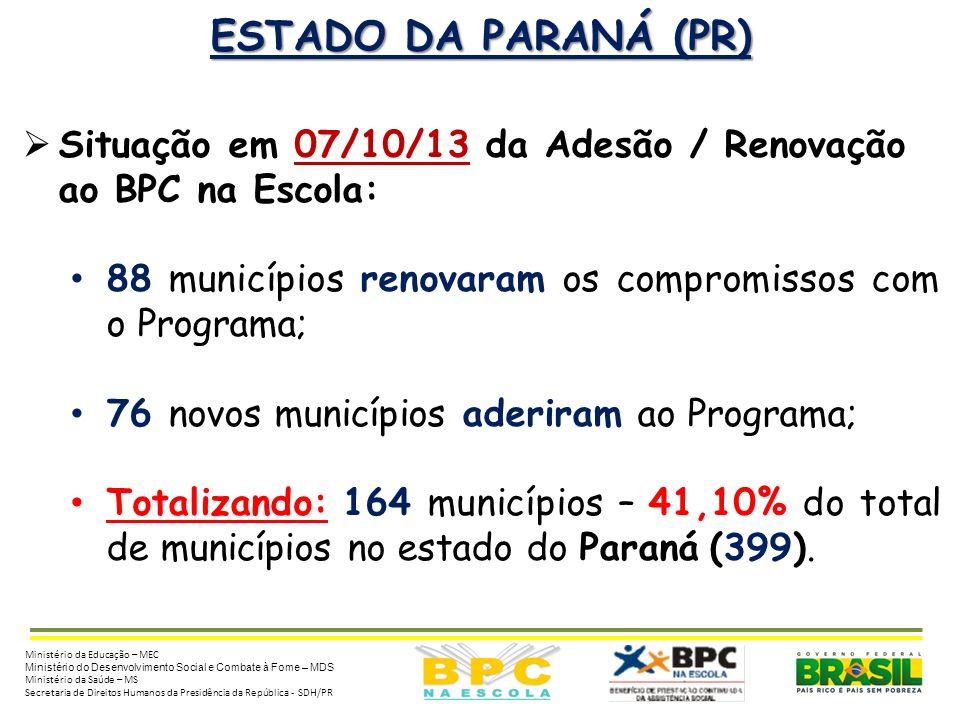 ORIENTAÇÕES PARA ADESÃO 2011-2014 Para aderir ao Programa BPC na Escola todos (as) os (as) Prefeitos (as) deverão realizar o preenchimento eletrônico