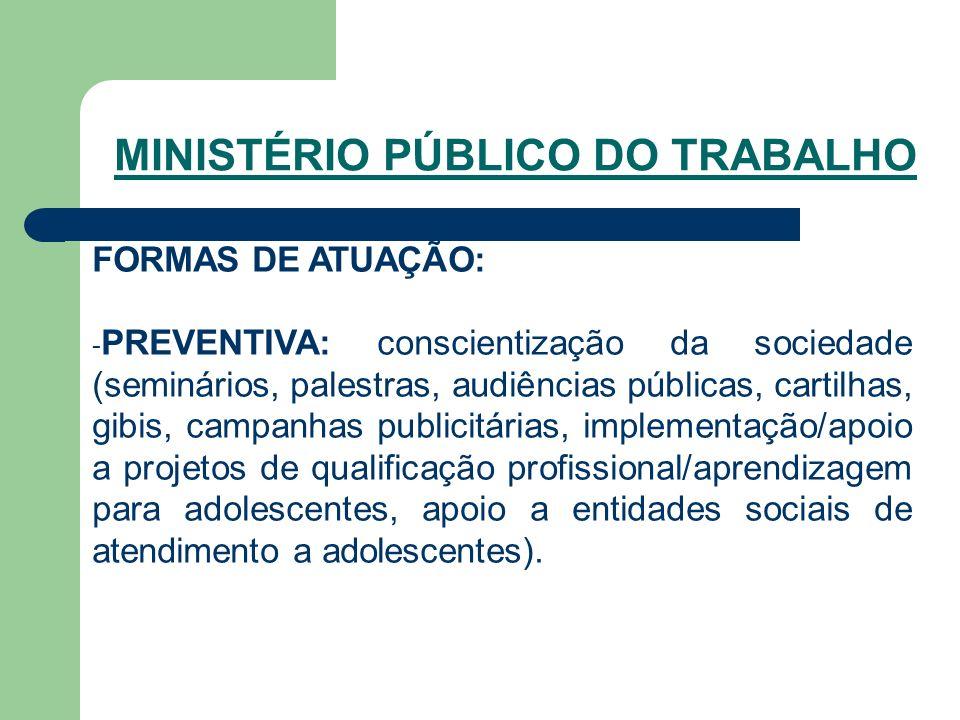 SINDICATOS Órgãos de representação e defesa das categorias patronais e de trabalhadores.