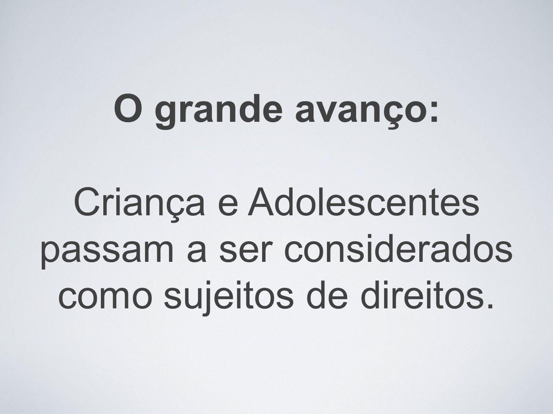 Estatuto da Criança e do Adolescente: 20 anos de avanços significativos no atendimento aos direitos humanos de crianças e adolescentes no Brasil.