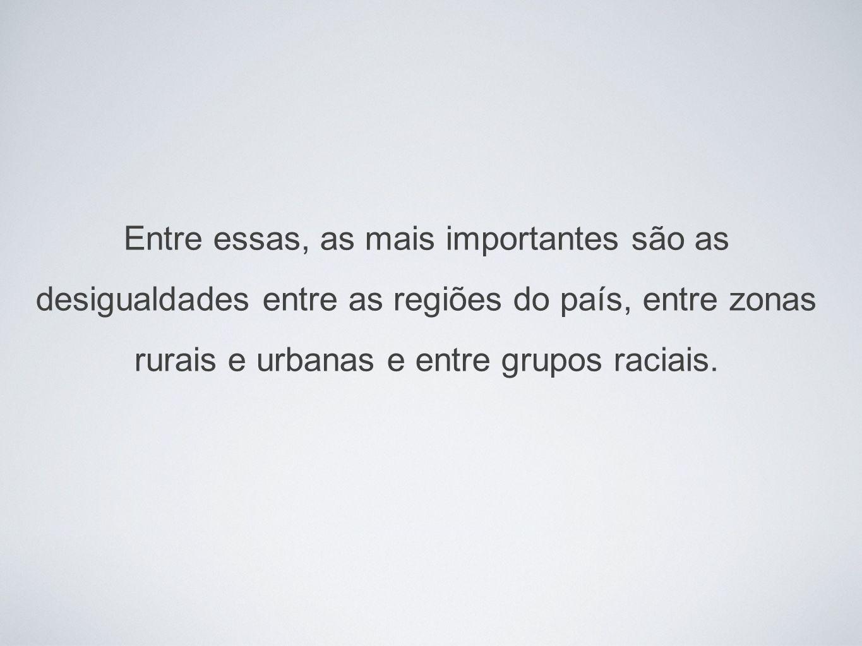 O Brasil ainda é um país de duas versões: notável progresso na luta contra a fome, em meio a agudas desigualdades sociais Olivier de Schutter Relator Especial das Nações Unidas Contra a Fome