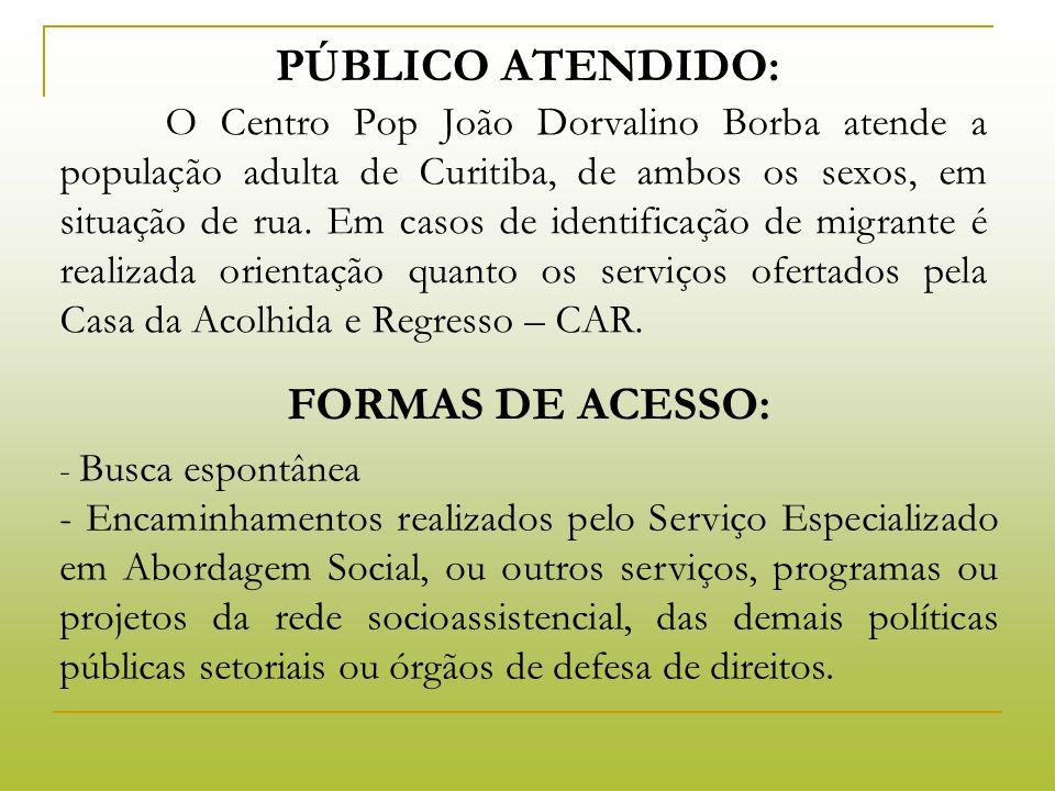 EQUIPE FAS Coordenador (Formação em Serviço Social) Apoio técnico (Formação em Psicologia) Técnicos: 1 assistente social, 1 psicólogo.