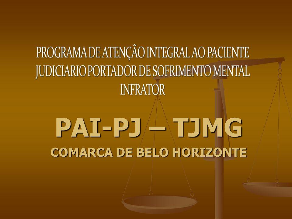 PAI-PJ – TJMG COMARCA DE BELO HORIZONTE