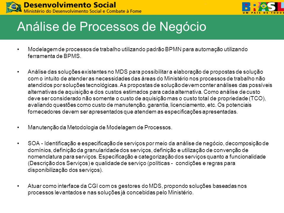 Modelagem de processos de trabalho utilizando padrão BPMN para automação utilizando ferramenta de BPMS. Análise das soluções existentes no MDS para po