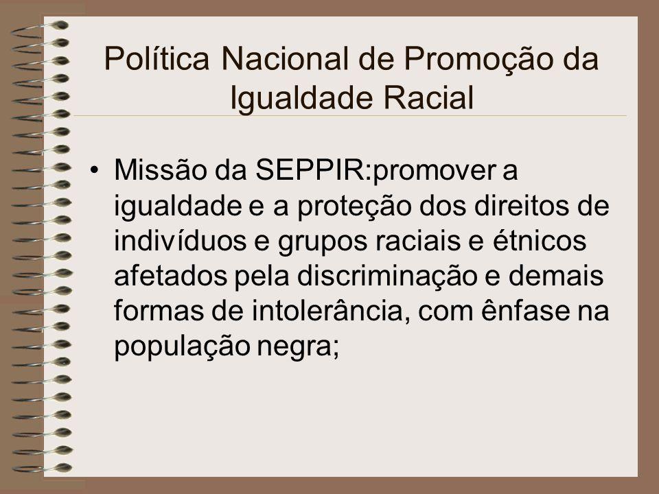 ESTATUTO DA IGUALDADE RACIAL Cap.VI Dos Meios de Comunicação Art.