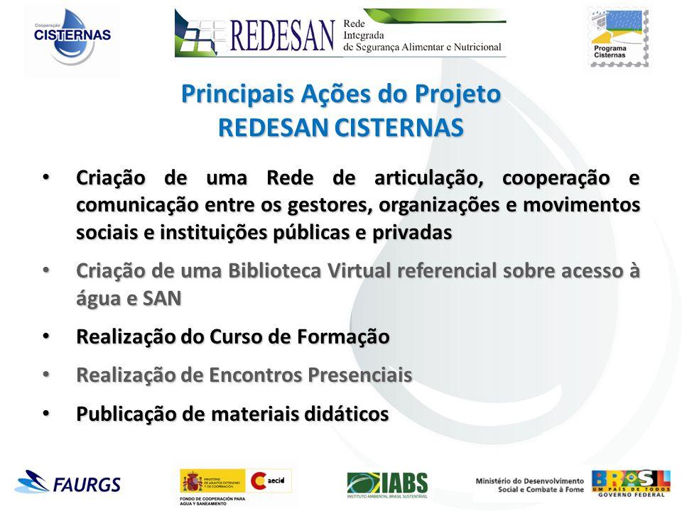 Criação de uma Rede de articulação, cooperação e comunicação entre os gestores, organizações e movimentos sociais e instituições públicas e privadas C
