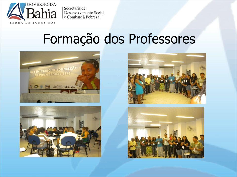 Formação dos Professores