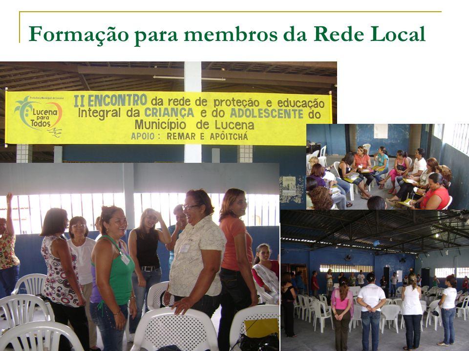 Formação para membros da Rede Local