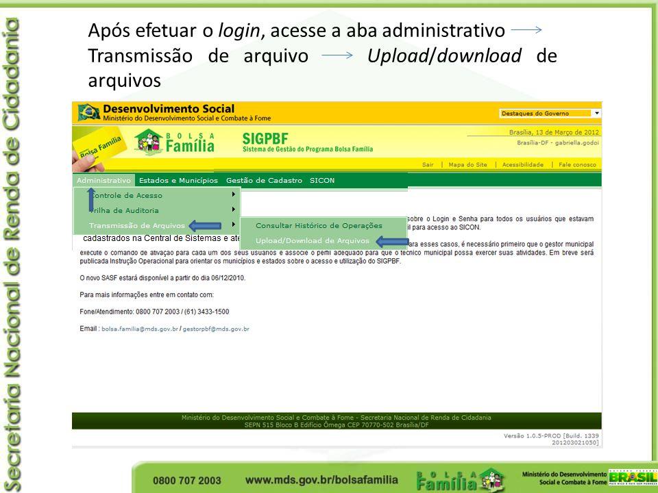 Clique em Coordenação-Geral de Concessão e Administração de Benefícios Processamento de Ofícios Clique na lupa na coluna ação