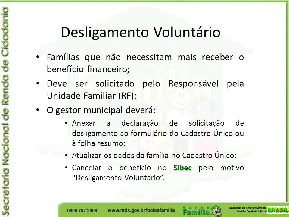 O gestor municipal deverá atualizar os dados da família no Cadastro Único, em especial no campo renda, a partir da busca da família, por meio do código do NIS, conforme demonstrado a seguir: