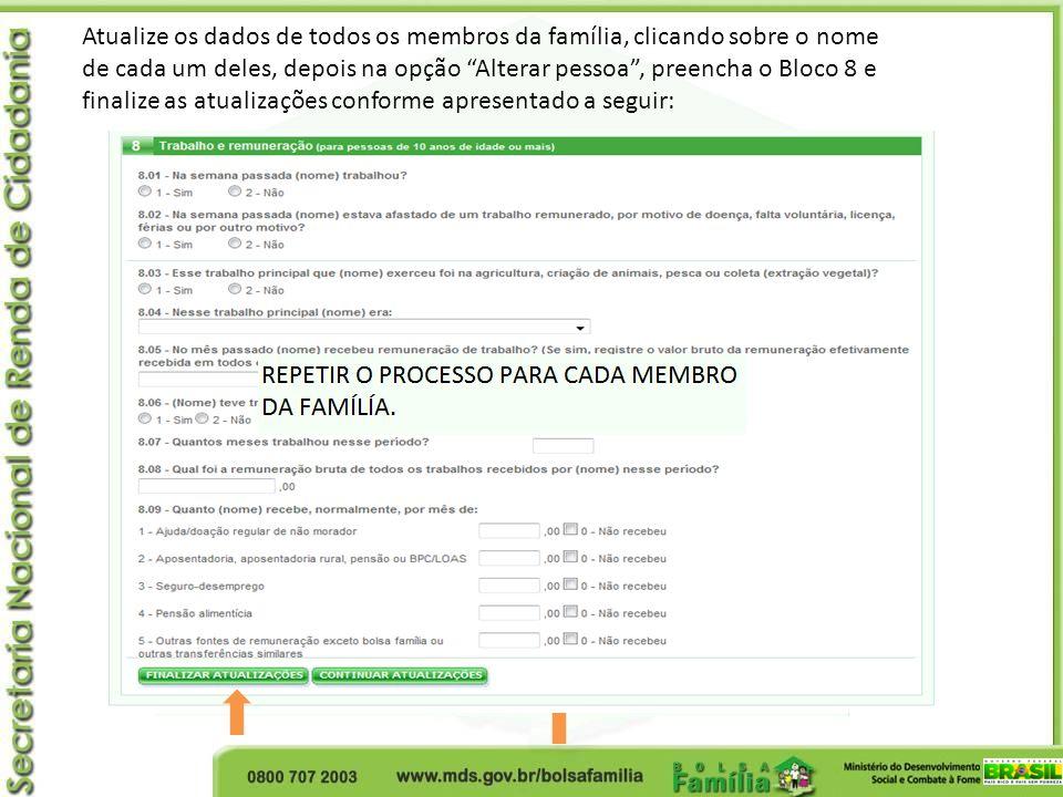 Reversão de cancelamento Será realizada pelo gestor municipal, respeitando os seguintes prazos: 36 meses – para os casos de desligamento voluntário.