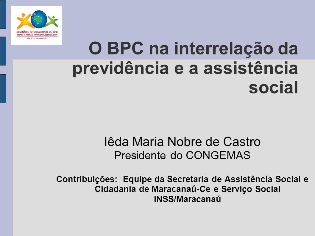 REFLEXÕES INICIAIS sobre seguridade social Contributivo Não contributivo Mecanismos de proteção social