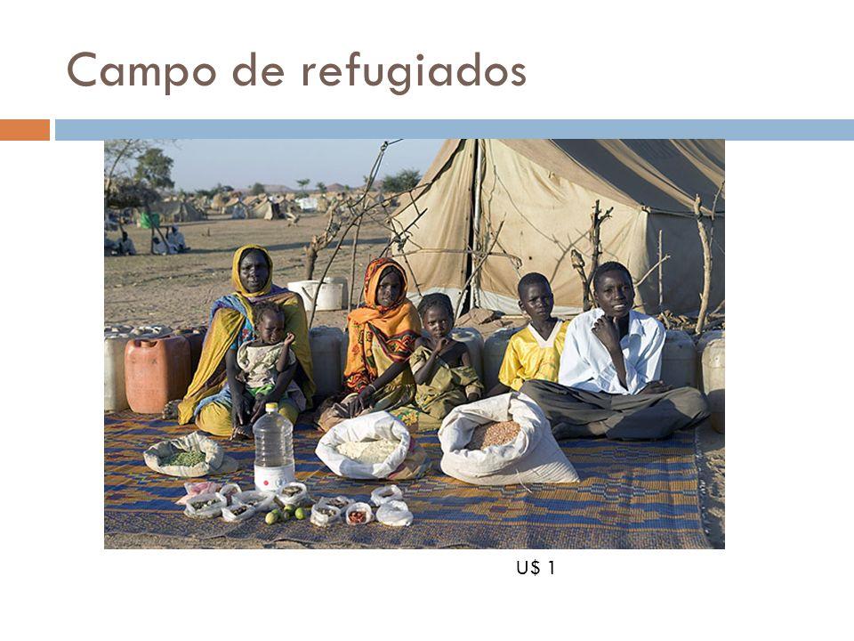 Campo de refugiados U$ 1