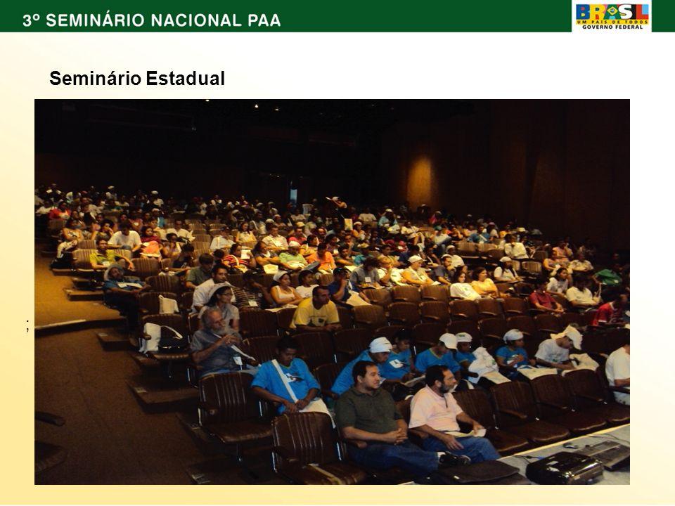 ; Seminário Estadual