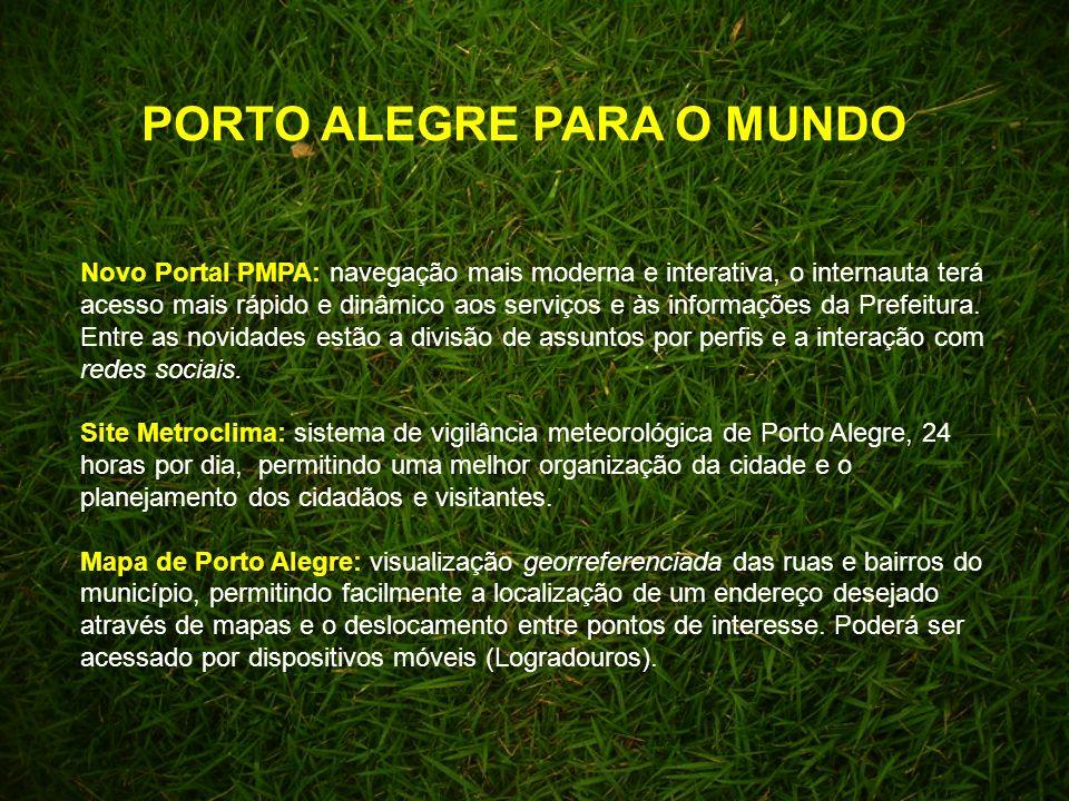 Novo Portal PMPA: navegação mais moderna e interativa, o internauta terá acesso mais rápido e dinâmico aos serviços e às informações da Prefeitura.