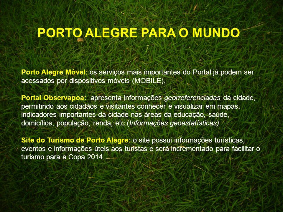 Porto Alegre Móvel: os serviços mais importantes do Portal já podem ser acessados por dispositivos móveis (MOBILE).