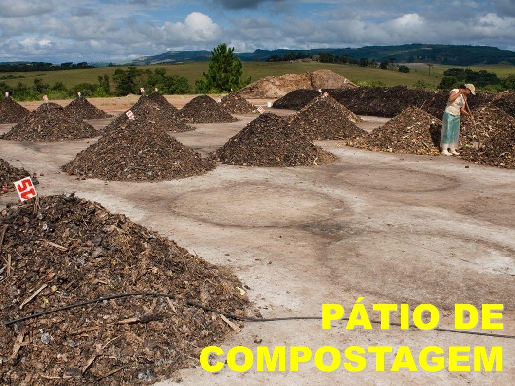 PÁTIO DE COMPOSTAGEM