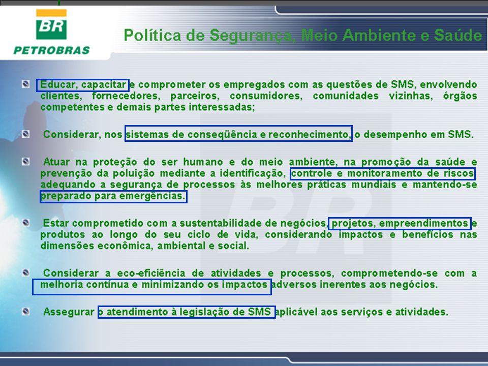 Gerência de Engenharia, Gerência de Engenharia, Saúde, Meio Ambiente e Segurança e Segurança GESMS Diretrizes Coorporativas TREINAMENTO INTEGRAÇÃO