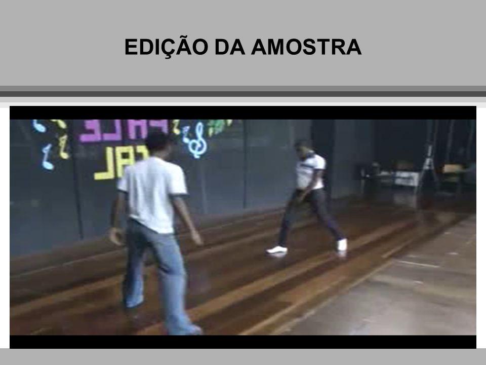 EDIÇÃO DA AMOSTRA