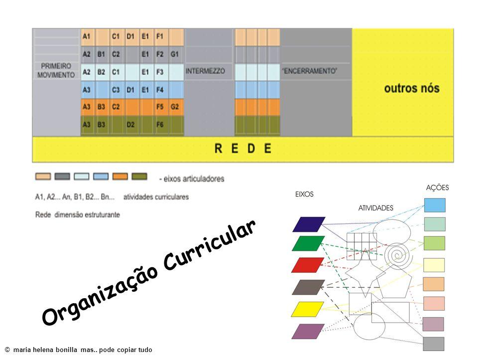Organização Curricular © maria helena bonilla mas.. pode copiar tudo