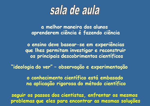 o processo de trabalho dos cientistas experiência surge, quase sempre, como algo episódico, ligado a um cientista personalizado e ignorando os contextos sociais, tecnológicos e culturais da produção científica Santos (1999, p.