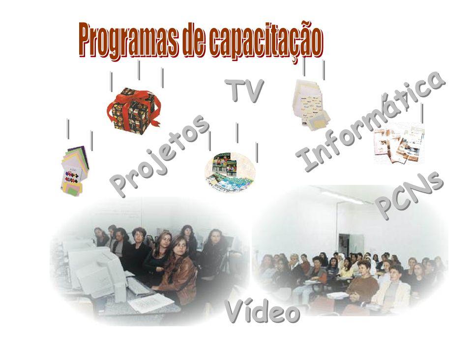 TV Vídeo Informática PCNs Projetos