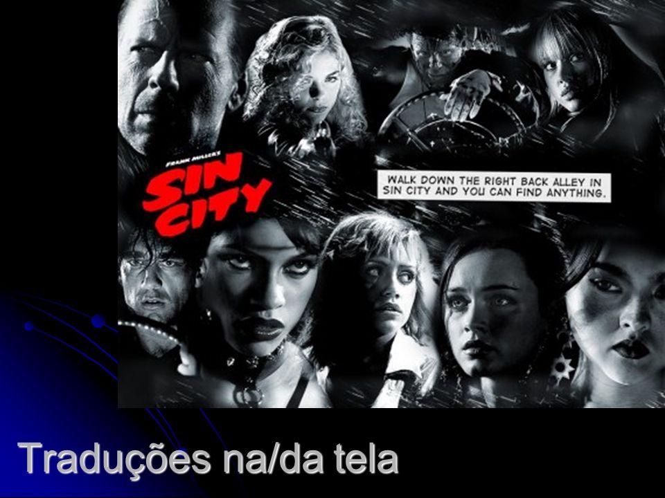 SIN CITY (Sin City).Direção de Frank Miller, Robert Rodriguez e Quentin Tarantino.