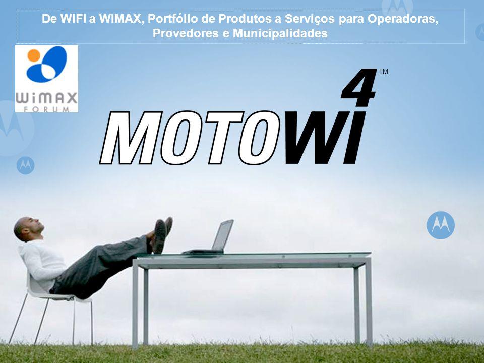 TM De WiFi a WiMAX, Portfólio de Produtos a Serviços para Operadoras, Provedores e Municipalidades