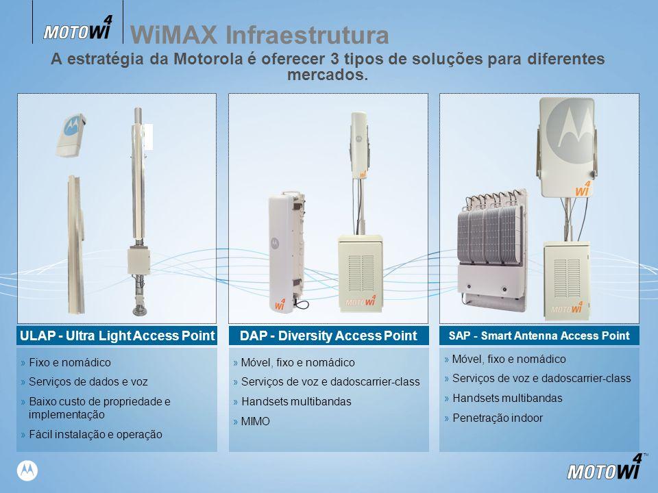 TM DAP - Diversity Access Point » Móvel, fixo e nomádico » Serviços de voz e dadoscarrier-class » Handsets multibandas » MIMO SAP - Smart Antenna Acce