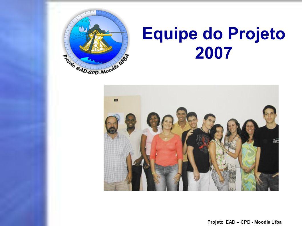 Equipe do Projeto 2007