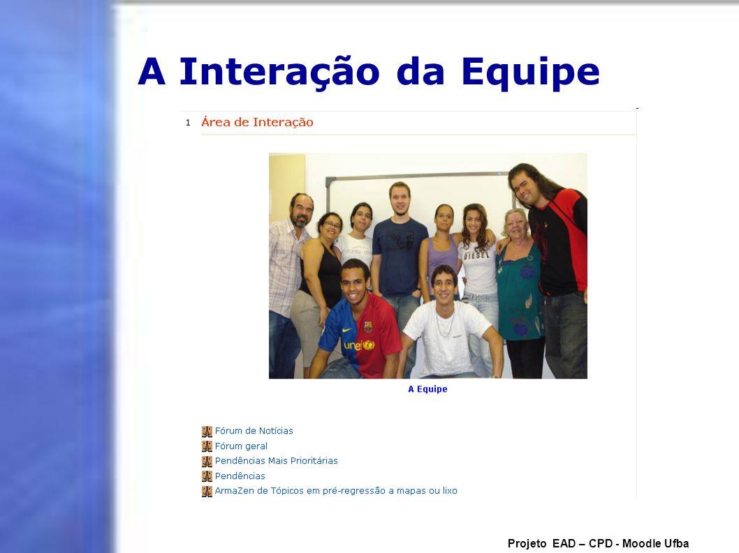 Laboratório de Temas Projeto EAD – CPD - Moodle Ufba