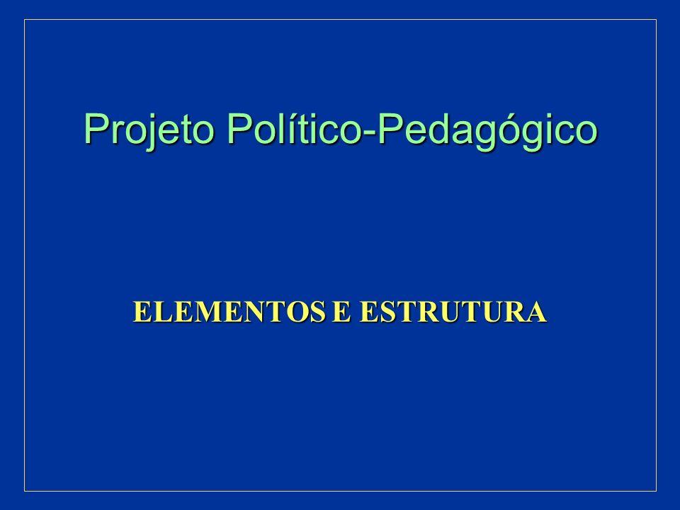 Projeto Político-Pedagógico Aproximação Conceitual Aproximação Conceitual É o Plano Global da instituição É o Plano Global da instituição Sistematização, nunca definitiva, Sistematização, nunca definitiva, de um processo de planejamento participativo, de um processo de planejamento participativo, que se objetiva e se aperfeiçoa na caminhada que se objetiva e se aperfeiçoa na caminhada Define a Ação educativa que se quer realizar Define a Ação educativa que se quer realizar A partir de um Posicionamento/Intencionalidade A partir de um Posicionamento/Intencionalidade E de uma Leitura Crítica da Realidade E de uma Leitura Crítica da Realidade