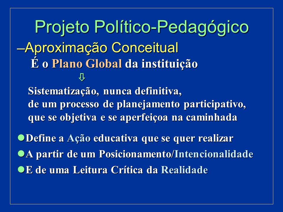 Projeto Político-Pedagógico Estrutura: Estrutura: Marco Referencial Marco Referencial Diagnóstico Diagnóstico Programação Programação